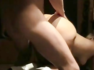 wife masturbates then ass drilled on real homemade