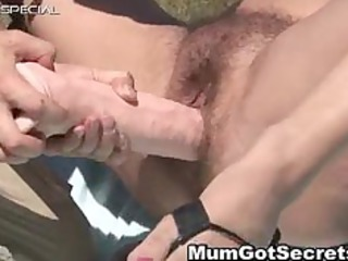 lewd mother i receives her hairy muf drilled part8