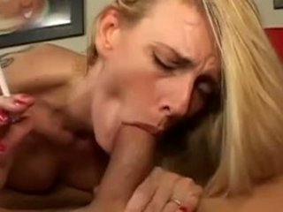 hawt golden-haired mother i darryl hanah smokin bj