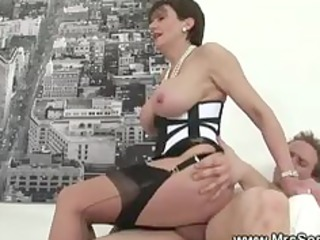 cheating wife receives hot forbidden sex in hose