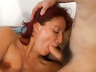 redhead floozy is shared by stud dick