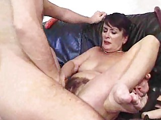aged and shaggy creampie harlots