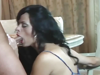 hot mommy-friend-son three-some