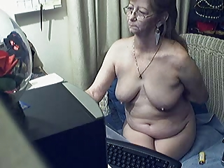 fascinating granny with glasses 0