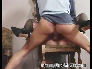 extraordinary hardcore granny fuckfest scene