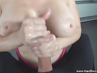 verbal humiliation of miniature penis by breasty