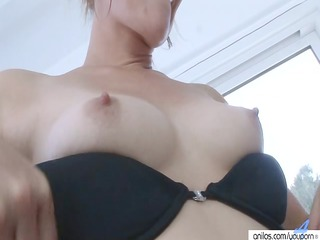 little aged hotty undress and pinch