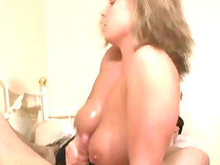 titfuck tugjob blond mature