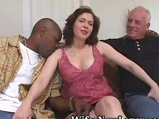 large titty wife receives freaky