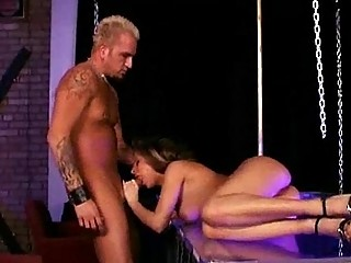 hot brunette milfs getting a hardcore plowing