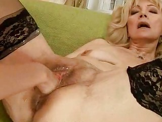 slutty granny getting fisted