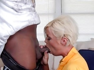 sexy blond mother i shags with impressive dark
