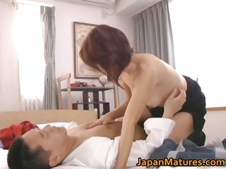 horny japanese aged honeys engulfing part5