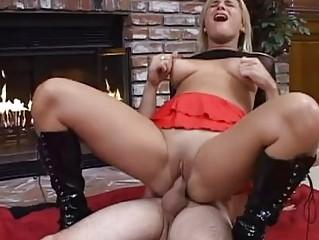 whorish blonde milf in boots receives subrigid