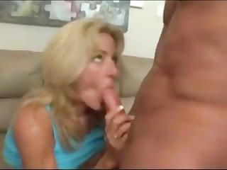 hawt breasty golden-haired mamma with fake large
