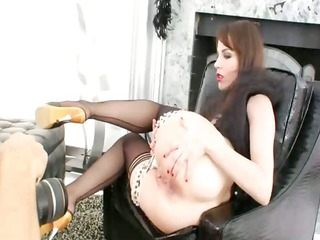 shooting of incredible anal model