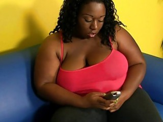 hawt fitness for one very large and plump ebony