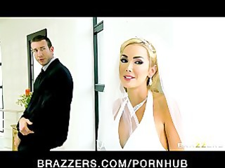 hawt big-tit bride devon rides a big-dick right
