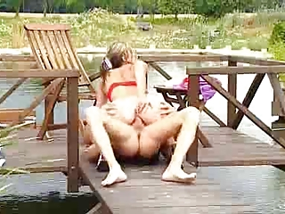 mother i outdoor anal