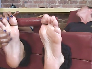 many muscles, but ticklish as hell