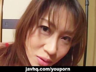 sexiest japanese chick remi matsukawa drilled!