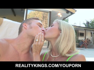 big-tit golden-haired d like to fuck shares her