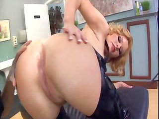 femdom foot and arse worship