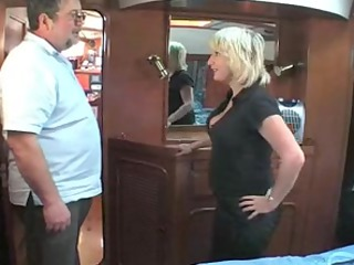mature british blonde fucking om a boat