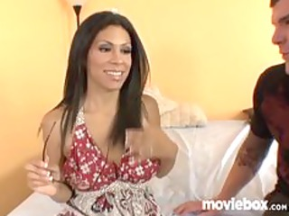 latin chick wife cheats on husband with juvenile