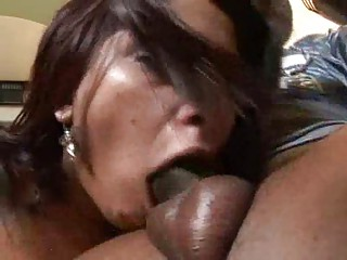 gagging milfs go interracial
