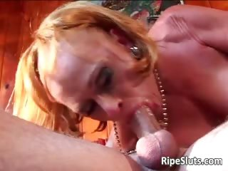 old aged wench with large tits receives her part6