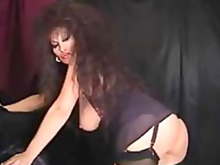 classic breasty cougar smokin and toying older