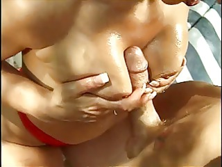 mature redhead titty bonks hung guy and takes