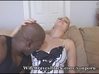hubby wishes black cum in hot wife