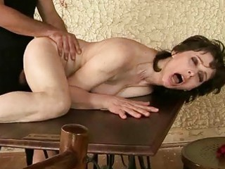 naughty granny enjoys hard fucking