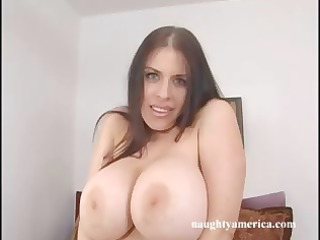 mature brunette hair daphne rosen with giant
