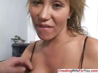 crazy abode wife receives a facial