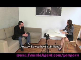 femaleagent. czech gigolo tests his skills