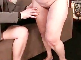 unattractive granny acquires drilled glamorous