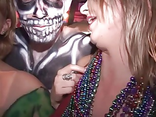 horny strumpets get undressed at dueling piano bar