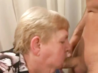 banging a chubby old curly granny
