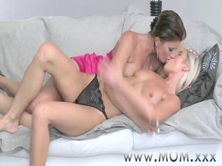 mommy lesbian milfs eating juciy juicy crack