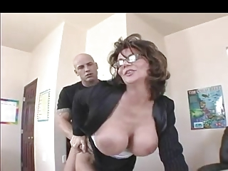 breasty mother i teacher in nylons fucks