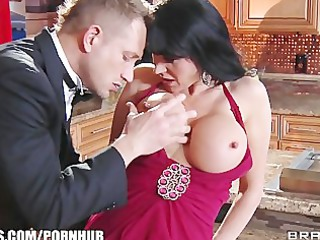 gold digger eva karera seduces a younger man for