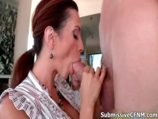four excited milfs love sucking jock hard part11