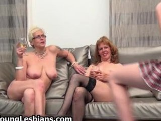 two slutty mature wifes having part1