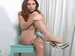 sexy mother i undresses and masturbates