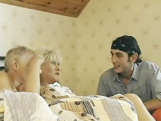 granny receives tag teamed