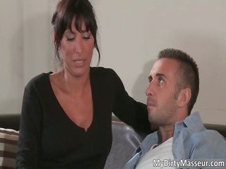 wicked brunette hair milf lezley zen