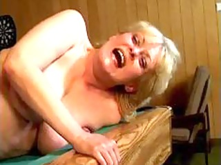 nasty blond older wife receives her pussy part0